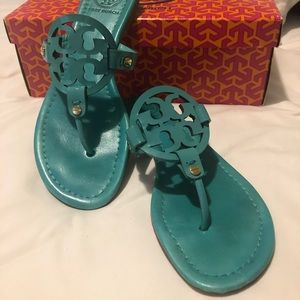 Turquoise Miller Sandals